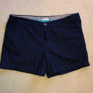 Merona navy blue eyelet shorts